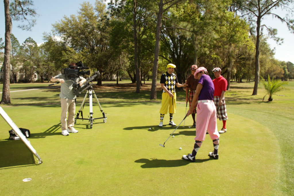 Tampa Commercial Production Co. Can Help with Natl. Golf Month Promotions